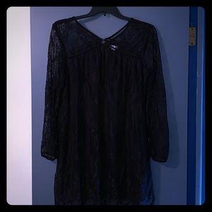 Black lacy tunic/dress ◾️